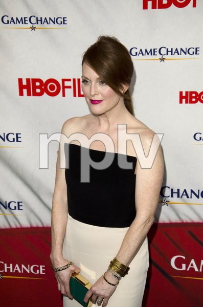 """Game Change"" PremiereJulianne Moore3-7-2012 / Ziegfeld Theater / HBO / New York NY / Photo by Eric Reichbaum - Image 24183_0111"