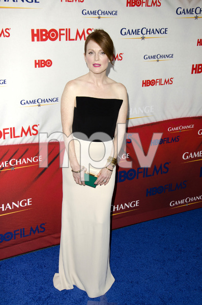 """Game Change"" PremiereJulianne Moore3-7-2012 / Ziegfeld Theater / HBO / New York NY / Photo by Eric Reichbaum - Image 24183_0135"