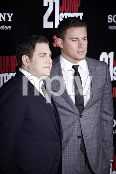"""""""21 Jump Street"""" PremiereJonah Hill and Channing Tatum3-13-2012 / Grauman"""