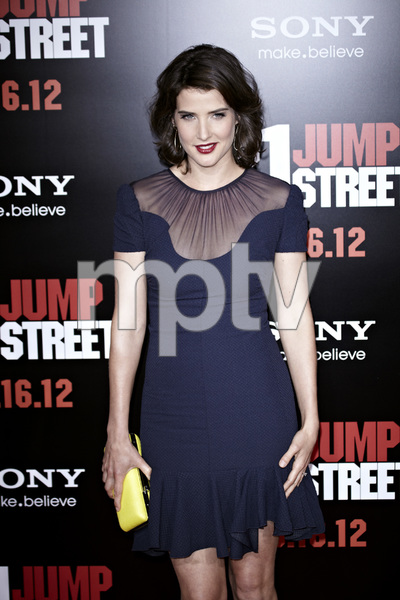 """21 Jump Street"" PremiereCobie Smulders 3-13-2012 / Grauman"