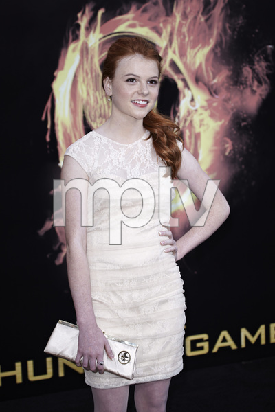 """""""The Hunger Games"""" PremiereAnnie Thurman3-12-2012 / Nokia Theater LA Live / Lionsgate / Los Angeles CA / Photo by Benny Haddad - Image 24191_0009"""