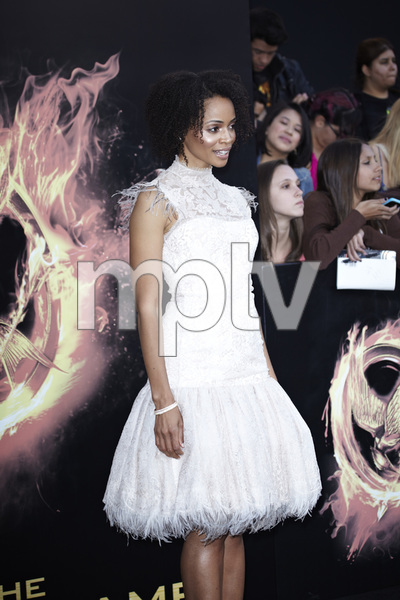 """""""The Hunger Games"""" PremiereLatarsha Rose3-12-2012 / Nokia Theater LA Live / Lionsgate / Los Angeles CA / Photo by Benny Haddad - Image 24191_0039"""