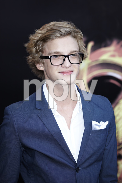 """The Hunger Games"" PremiereCody Simpson3-12-2012 / Nokia Theater LA Live / Lionsgate / Los Angeles CA / Photo by Benny Haddad - Image 24191_0102"