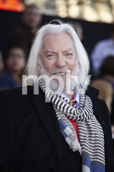 """""""The Hunger Games"""" PremiereDonald Sutherland3-12-2012 / Nokia Theater LA Live / Lionsgate / Los Angeles CA / Photo by Benny Haddad - Image 24191_0106"""