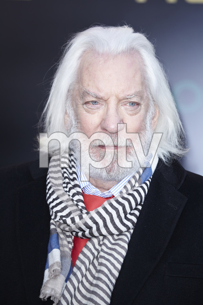 """The Hunger Games"" PremiereDonald Sutherland3-12-2012 / Nokia Theater LA Live / Lionsgate / Los Angeles CA / Photo by Benny Haddad - Image 24191_0108"