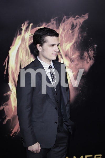 """The Hunger Games"" PremiereJosh Hutcherson3-12-2012 / Nokia Theater LA Live / Lionsgate / Los Angeles CA / Photo by Benny Haddad - Image 24191_0144"