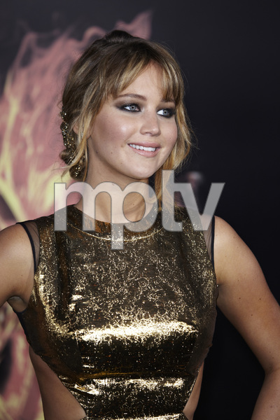 """""""The Hunger Games"""" PremiereJennifer Lawrence3-12-2012 / Nokia Theater LA Live / Lionsgate / Los Angeles CA / Photo by Benny Haddad - Image 24191_0151"""