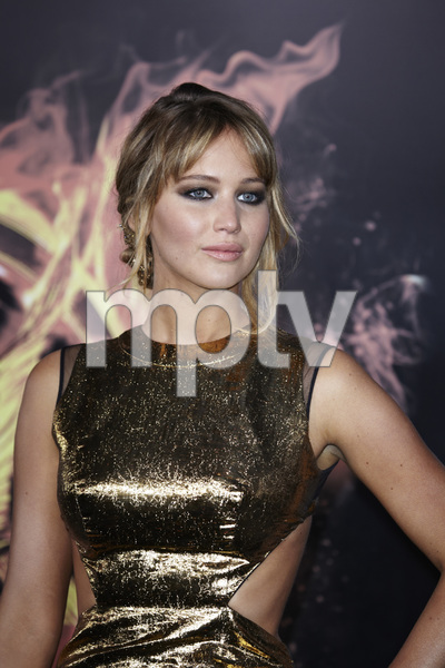 """""""The Hunger Games"""" PremiereJennifer Lawrence3-12-2012 / Nokia Theater LA Live / Lionsgate / Los Angeles CA / Photo by Benny Haddad - Image 24191_0159"""