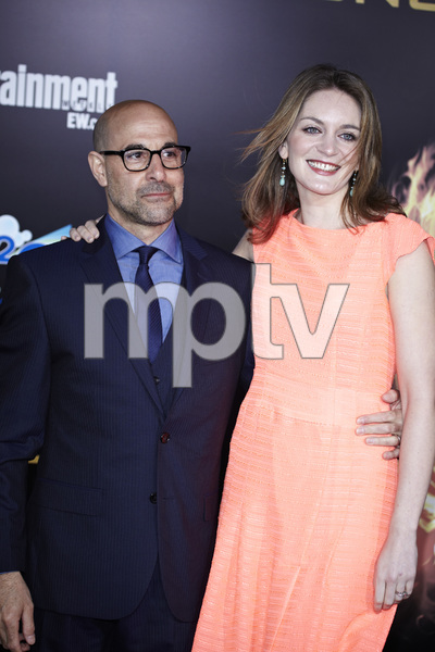 """""""The Hunger Games"""" PremiereStanley Tucci, Felicity Blunt3-12-2012 / Nokia Theater LA Live / Lionsgate / Los Angeles CA / Photo by Benny Haddad - Image 24191_0175"""