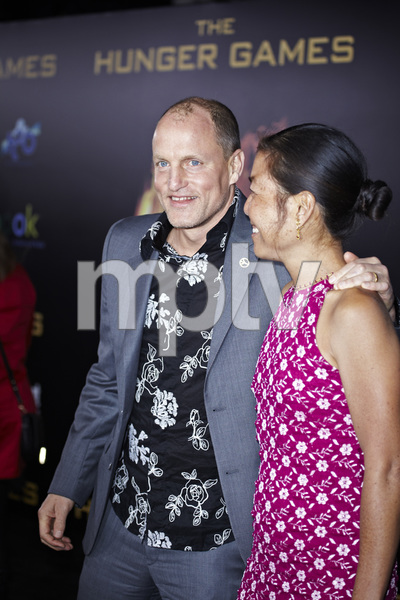 """""""The Hunger Games"""" PremiereWoody Harrelson3-12-2012 / Nokia Theater LA Live / Lionsgate / Los Angeles CA / Photo by Benny Haddad - Image 24191_0184"""