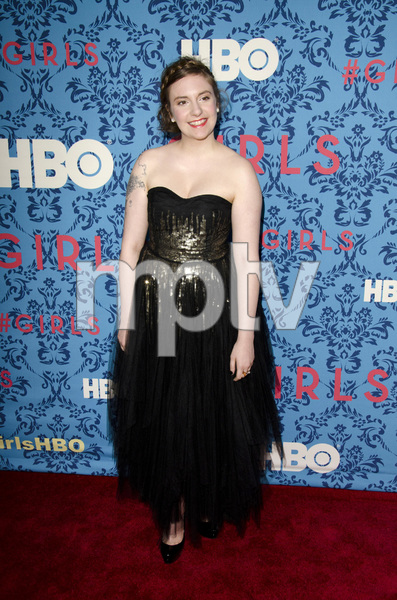 """Girls"" PremiereLena Dunham4-4-2012 / School of Visual Arts / HBO / New York NY / Photo by Eric Reichbaum - Image 24204_0045"