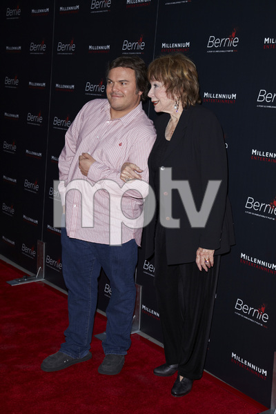 """Bernie"" Premiere Jack Black, Shirley MacLaine4-18-2012 / ArcLight Theater / Millennium Entertainment / Hollywood CA / Photo by Kevin Kozicki - Image 24209_0010"