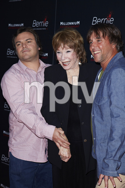 """Bernie"" Premiere Jack Black, Shirley MacLaine, Richard Linklater4-18-2012 / ArcLight Theater / Millennium Entertainment / Hollywood CA / Photo by Kevin Kozicki - Image 24209_0012"