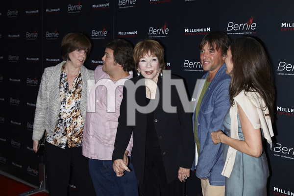 """Bernie"" Premiere Jack Black, Shirley MacLaine, Richard Linklater4-18-2012 / ArcLight Theater / Millennium Entertainment / Hollywood CA / Photo by Kevin Kozicki - Image 24209_0014"