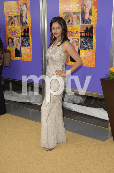 """The Best Exotic Marigold Hotel"" Premiere Pooja Kumar4-23-2012 / Ziegfeld Theater / Fox Searchlight / New York NY / Photo by Eric Reichbaum - Image 24210_0015"