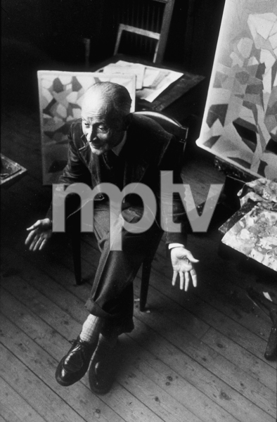 Jacques Villon in France, 1952. © 1978 Sanford Roth, LACMAMPTV  - Image 2421_0002
