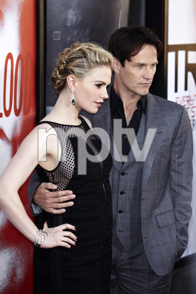 """""""True Blood"""" Premiere Anna Paquin and Stephen Moyer5-30-2012 / Cinerama Dome / HBO / Hollywood CA / Photo by Benny Haddad - Image 24219_0164"""