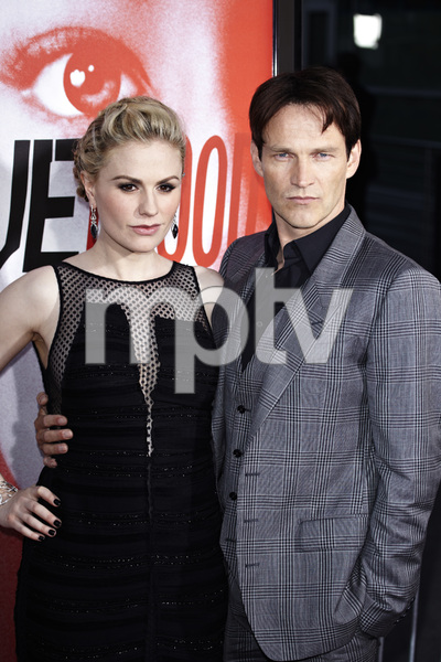 """""""True Blood"""" Premiere Anna Paquin and Stephen Moyer5-30-2012 / Cinerama Dome / HBO / Hollywood CA / Photo by Benny Haddad - Image 24219_0174"""