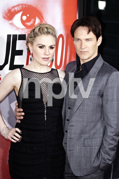"""""""True Blood"""" Premiere Anna Paquin and Stephen Moyer5-30-2012 / Cinerama Dome / HBO / Hollywood CA / Photo by Benny Haddad - Image 24219_0176"""