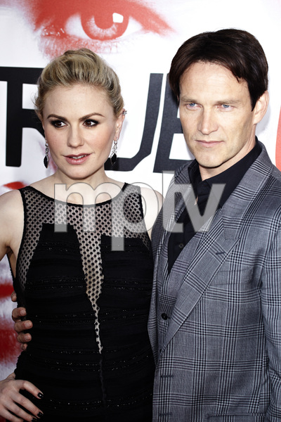 """""""True Blood"""" Premiere Anna Paquin and Stephen Moyer5-30-2012 / Cinerama Dome / HBO / Hollywood CA / Photo by Benny Haddad - Image 24219_0191"""