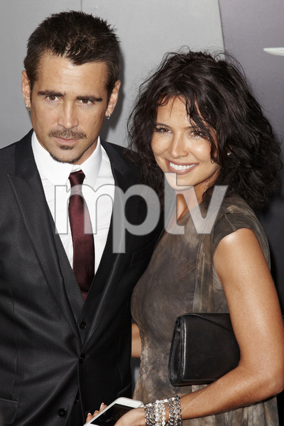 """Total Recall"" Premiere Colin Farrell, Claudine Farrell8-1-2012 / Grauman"