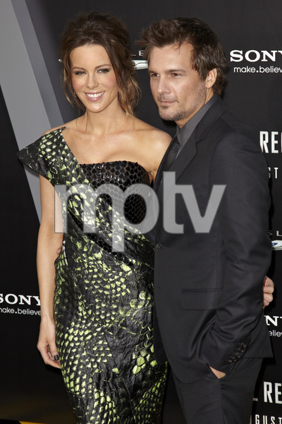 """Total Recall"" Premiere Len Wiseman, Kate Beckinsale8-1-2012 / Grauman"