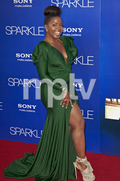 """Sparkle"" Premiere Brely Evans8-16-2012 / Grauman"