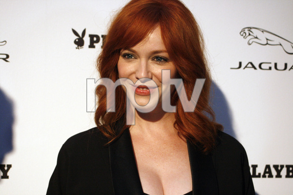 """Jaguar and Playboy Magazine VIP Reception""Christina Hendricks08-17-2012 / Pebble Beach, California© 2012 Ron Avery - Image 24248_0007"