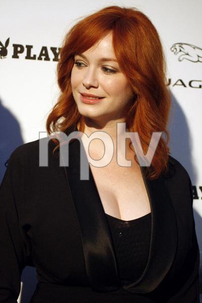 """Jaguar and Playboy Magazine VIP Reception""Christina Hendricks08-17-2012 / Pebble Beach, California© 2012 Ron Avery - Image 24248_0008"