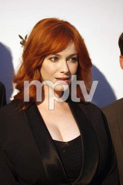 """Jaguar and Playboy Magazine VIP Reception""Christina Hendricks08-17-2012 / Pebble Beach, California© 2012 Ron Avery - Image 24248_0009"