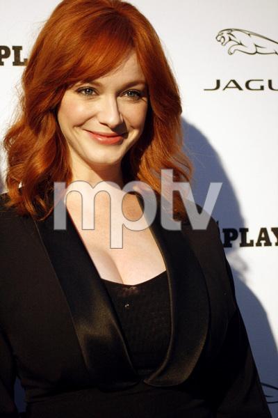 """Jaguar and Playboy Magazine VIP Reception""Christina Hendricks08-17-2012 / Pebble Beach, California© 2012 Ron Avery - Image 24248_0011"