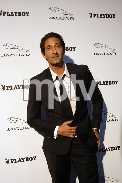 """Jaguar and Playboy Magazine VIP Reception""Adrien Brody 08-17-2012 / Pebble Beach, California© 2012 Ron Avery - Image 24248_0017"