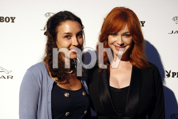 """Jaguar and Playboy Magazine VIP Reception""Toni Avery, Christina Hendricks08-17-2012 / Pebble Beach, California© 2012 Ron Avery - Image 24248_0020"