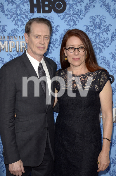 """Boardwalk Empire"" Premiere Steve Buscemi, Jo Andres9-5-2012 / Ziegfeld Theater / HBO / New York NY / Photo by Eric Reichbaum - Image 24251_0144"