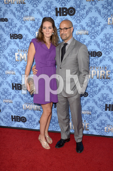 """Boardwalk Empire"" Premiere Stanley Tucci, Felicity Blunt9-5-2012 / Ziegfeld Theater / HBO / New York NY / Photo by Eric Reichbaum - Image 24251_0446"