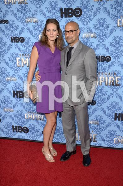 """Boardwalk Empire"" Premiere Stanley Tucci, Felicity Blunt9-5-2012 / Ziegfeld Theater / HBO / New York NY / Photo by Eric Reichbaum - Image 24251_0446"
