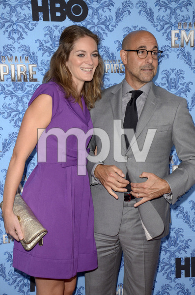 """Boardwalk Empire"" Premiere Stanley Tucci, Felicity Blunt9-5-2012 / Ziegfeld Theater / HBO / New York NY / Photo by Eric Reichbaum - Image 24251_0450"
