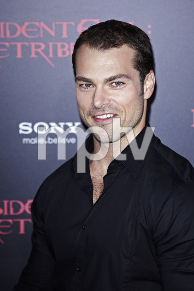 """Resident Evil: Retribution"" Premiere Shawn Roberts9-12-2012 / Regal Cinemas L.A. Live / Screen Gems / Los Angeles CA / Photo by Benny Haddad - Image 24252_0006"