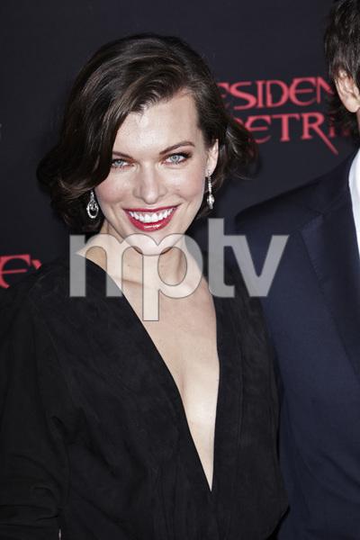 """Resident Evil: Retribution"" Premiere Milla Jovovich9-12-2012 / Regal Cinemas L.A. Live / Screen Gems / Los Angeles CA / Photo by Benny Haddad - Image 24252_0099"