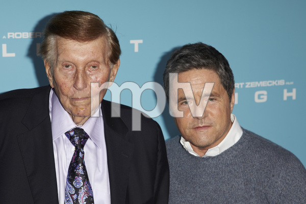 """Flight"" PremiereSumner Redstone, Brad Grey10-23-2012 / ArcLight Cinema / Hollywood CA / Paramount Pictures / Photo by Kevin Kozicki - Image 24256_0062"