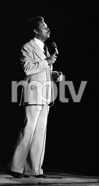 Billy Eckstine singing at the Hollywood Bowl1973© 1978 Paul Slaughter - Image 24262_0078