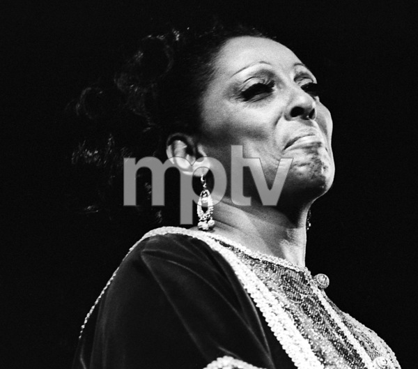 Carmen McRae singing at the Monterey Jazz Festival1971© 1978 Paul Slaughter - Image 24262_0112