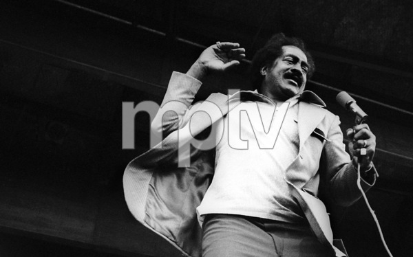 Jimmy Witherspoon at the Monterey Jazz Festival1970© 1978 Paul Slaughter - Image 24262_0136