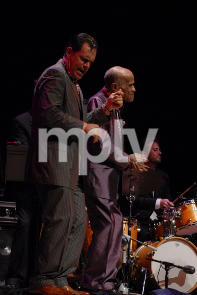 Jon Hendricks and Kurt Elling at the New Mexico Jazz Festival2012© 2012 Paul Slaughter - Image 24262_0202