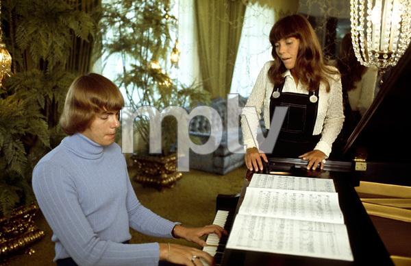 The Carpenters (Karen and Richard)1971© 1978 Paul Slaughter - Image 24262_0286