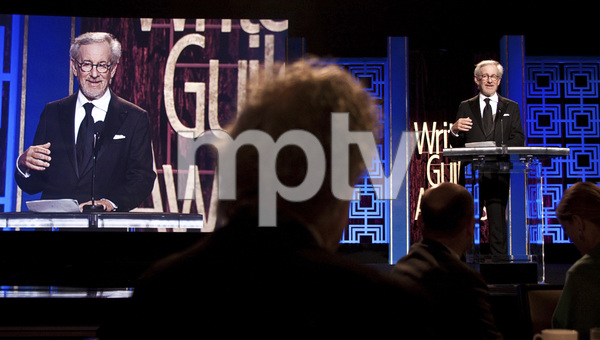 """2013 Writers Guild Awards"" Steven Spielberg02-17-2013 / JW Marriott Hotel / Los Angeles, CA © 2013 Michael Jones - Image 24263_0003"
