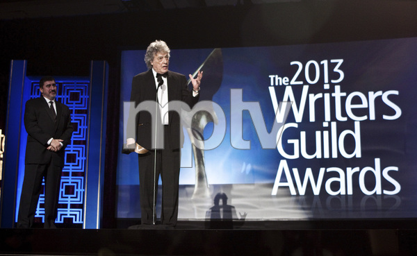 """2013 Writers Guild Awards"" Tom Stoppard02-17-2013 / JW Marriott Hotel / Los Angeles, CA © 2013 Michael Jones - Image 24263_0008"