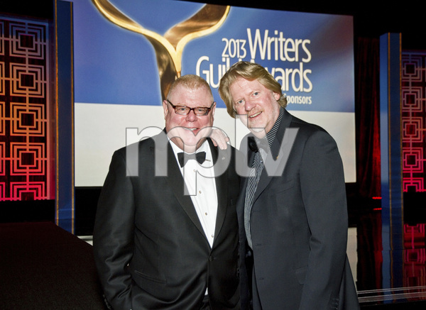 """2013 Writers Guild Awards"" Daniel Petrie Jr., Donald Petrie02-17-2013 / JW Marriott Hotel / Los Angeles, CA © 2013 Michael Jones - Image 24263_0011"