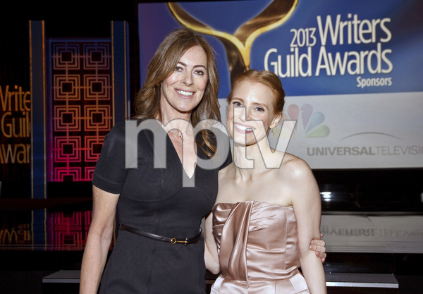 """2013 Writers Guild Awards"" Kathryn Bigelow, Jessica Chastain02-17-2013 / JW Marriott Hotel / Los Angeles, CA © 2013 Michael Jones - Image 24263_0014"