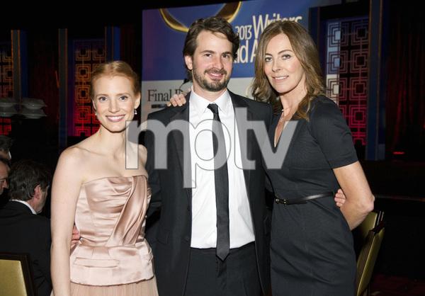 """2013 Writers Guild Awards"" Kathryn Bigelow, Jessica Chastain, Mark Boal02-17-2013 / JW Marriott Hotel / Los Angeles, CA © 2013 Michael Jones - Image 24263_0016"